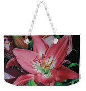 Lily's Garden Weekender Tote Bag