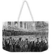 Lincoln Assassination, 1865 Weekender Tote Bag
