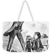 Lincoln Cartoon, 1865 Weekender Tote Bag