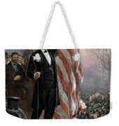 Lincoln Independence Hall Weekender Tote Bag