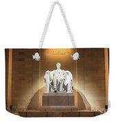 Washington Dc - Lincoln Memorial Weekender Tote Bag