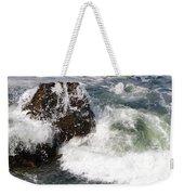 Linda Mar Beach Surf Weekender Tote Bag
