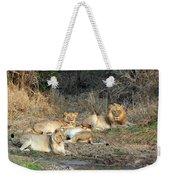 Lion Pride Weekender Tote Bag