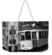 Lisbon Tram Weekender Tote Bag