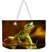 Lizard Weekender Tote Bag