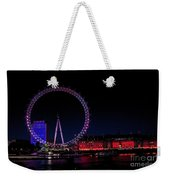 London Eye In Red White And Blue Weekender Tote Bag