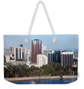 Long Beach Skyline Weekender Tote Bag