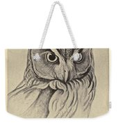 Long Eared Owl Weekender Tote Bag