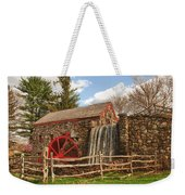 Longfellow's Wayside Inn Grist Mill Weekender Tote Bag by Jeff Folger