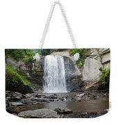 Looking Glass Falls North Carolina Weekender Tote Bag