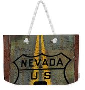 Lost Highway Weekender Tote Bag
