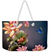 Sleeping Fairy Weekender Tote Bag