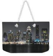 Night Lights Of Louisville Weekender Tote Bag