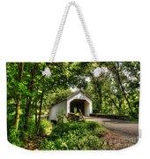 Loux Covered Bridge Weekender Tote Bag