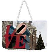 Love In The Park Weekender Tote Bag