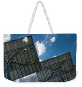 Low Angle View Of Solar Panels Weekender Tote Bag