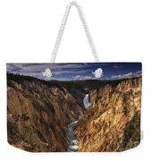 Lower Yellowstone Falls II Weekender Tote Bag