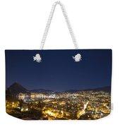 Lugano By Night Weekender Tote Bag