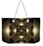 Luminous Mandala Weekender Tote Bag