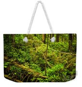 Lush Temperate Rainforest Weekender Tote Bag