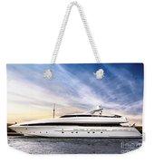 Luxury Yacht Weekender Tote Bag by Elena Elisseeva