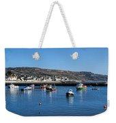 Lyme Regis Harbour Weekender Tote Bag