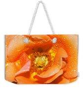 Macro Image Of A Rose Weekender Tote Bag