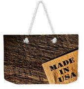 Made In Usa Weekender Tote Bag