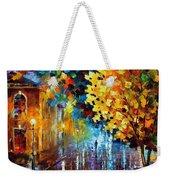 Magic Rain Weekender Tote Bag by Leonid Afremov