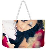 Maid Of Honour Signing Wedding Registar Weekender Tote Bag