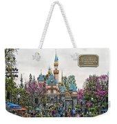 Main Street Sleeping Beauty Castle Disneyland 01 Weekender Tote Bag