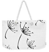Make A Wish Weekender Tote Bag by Marianna Mills