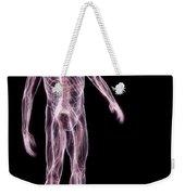 Male Anatomy Weekender Tote Bag