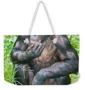 Male Bonobo Weekender Tote Bag