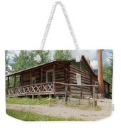 Mamma Cabin At The Holzwarth Historic Site Weekender Tote Bag