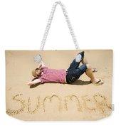 Man Of Summer Weekender Tote Bag