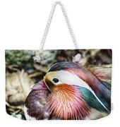 Mandarin Duck Weekender Tote Bag