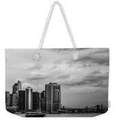Manhattan Skyline Right Triptych Weekender Tote Bag