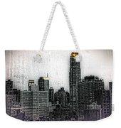 Manhattan View Weekender Tote Bag