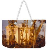 Mansion Landscape Weekender Tote Bag