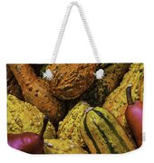 Many Colorful Gourds Weekender Tote Bag