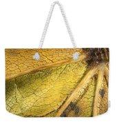 Maple Leaf Detail Weekender Tote Bag