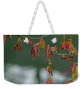 Maple Red Samaras Weekender Tote Bag