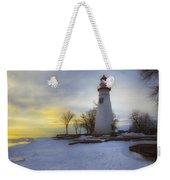 Marblehead Lighthouse Lake Erie Weekender Tote Bag