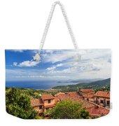Marciana Village - Elba Island Weekender Tote Bag