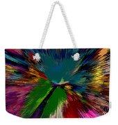 Mardi Gras Abstract Weekender Tote Bag