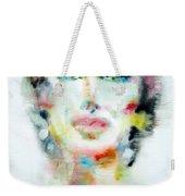 Maria Callas - Watercolor Portrait.2 Weekender Tote Bag
