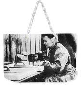 Marie And Pierre Curie Weekender Tote Bag