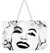 Marilyn What A Beautiful Girl Weekender Tote Bag