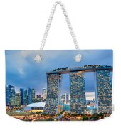 Marina  Bay Sands - Singapore Weekender Tote Bag